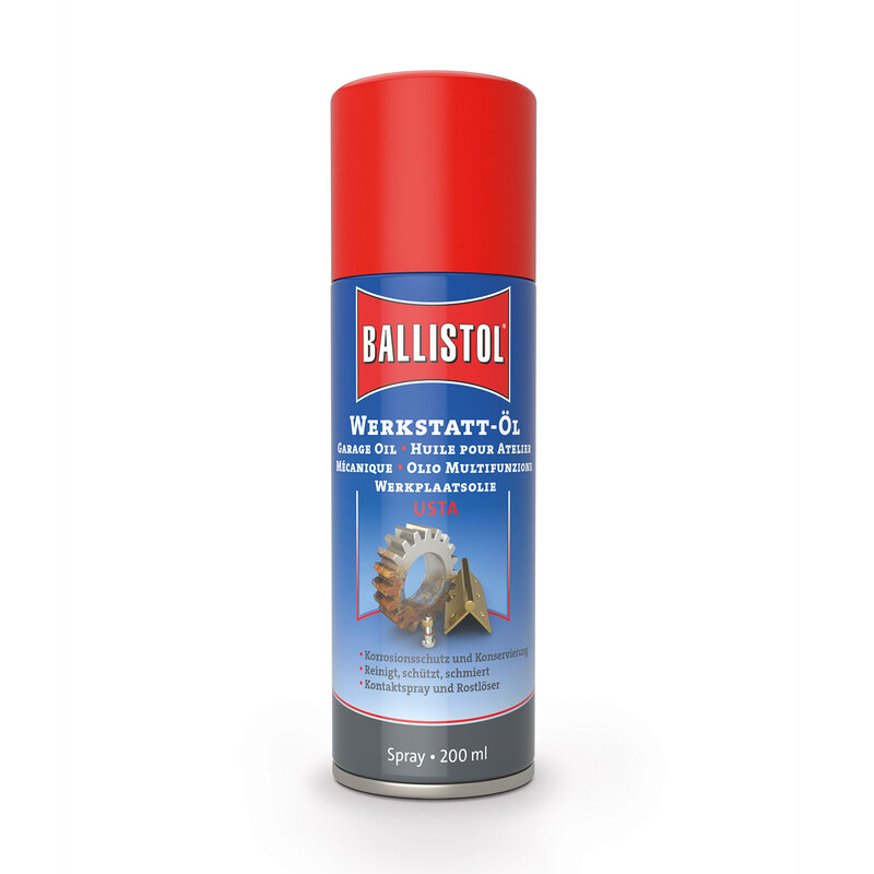 Ballistol Usta Garage Sprey Yağ 200 ml